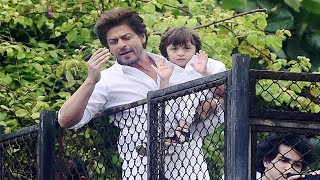 Here is how Shahrukh Khan & Abram celebrated Eid 2017