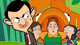 Go Away Mr Bean! | Funny Clips | Cartoon World