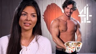 Freaky When Hot Oven Cleaner's Pet Dogs Have Same Names As Yours | First Dates