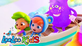 Row Your Boat - Wonderful Lullabies for Children | LooLoo Kids