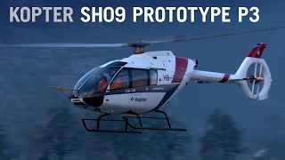 Third Prototype Kopter SH09 Helicopter Makes First Flight – AINtv