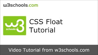 W3Schools CSS Float Tutorial