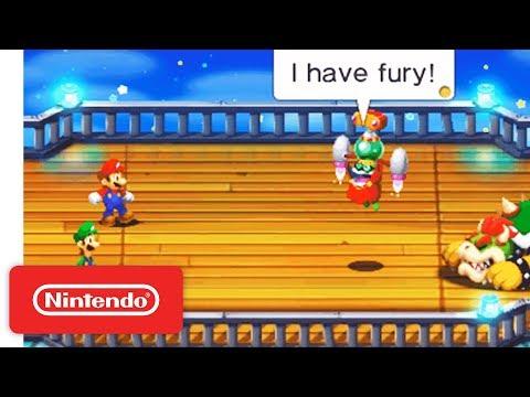 Mario & Luigi Superstar Saga Bowser's Minions Nintendo 3DS Launch Trailer