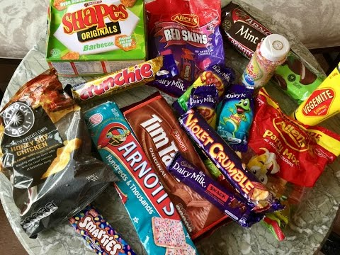 American Girl Tries Australian Candy
