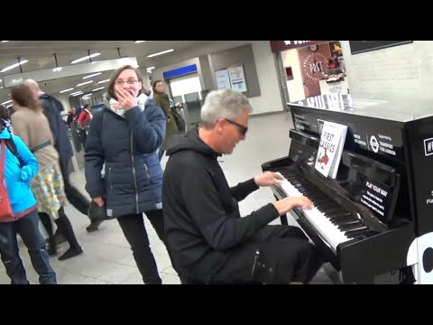 Girl Reacts in Astonishment To Her Piano Solo Make Over