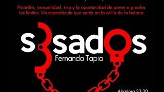 Fernanda Tapia presenta S3SADOS en Dispara Margot Dispara