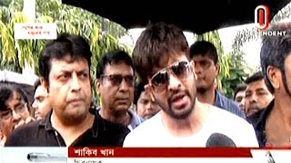 Actor Shakib Khan Talking On Mic About Bangla-Kolkatan Film Exchange Rules