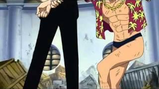One Piece - Luffy,Franky Vs Luchi(Shigan)
