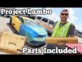 I Found a Lamborghini at the Salvage Auction that Comes with ALL The Parts to FIX It!