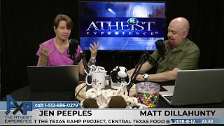 Atheist Experience 22.32 with Matt Dillahunty and Jen Peeples