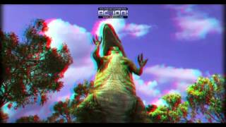 Dinossauros 3D Animation - Red Cyan 3D video - 3D Movie Trailer
