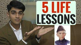 5 Life Lessons that Quaid-e-Azam Muhammad Ali Jinnah taught us.! 25 December 2016 | Urdu/Hindi