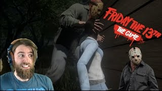 Scariest Multiplayer Game Ever? | FRIDAY THE 13th: THE GAME [#01]