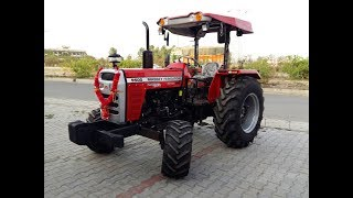 Massey Ferguson 9500 58hp Tractor with Leveler Implement!!Without Driver Tractor