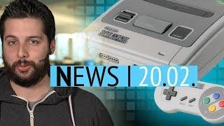 Patent deutet auf SNES Mini hin - Skyrim-Macher arbeiten an 7 neuen Spielen - News
