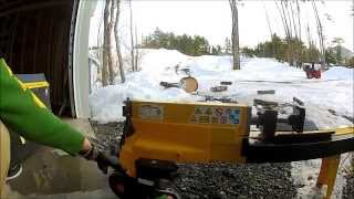 Princess Auto Powerfist 5-Ton Log Splitter