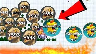 Agar.io Uncut Solo Boss Mode Dominating Agar.io Mobile Gameplay