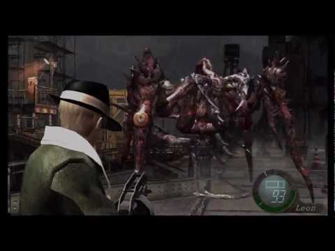 Resident Evil 4 HD All bosses & sub bosses killed Professional difficulty