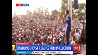 Bobi Wine's Last Campaign Speech Ahead of Thursday Elections
