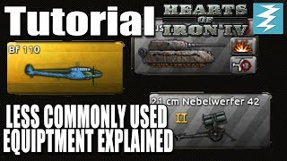 LESS COMMONLY USED EQUIPMENT - DAY 5# - Hearts of Iron 4 (HOI4)