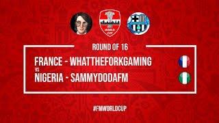 France vs Nigeria    WhatTheForkGaming vs SammyDoDaFM   Football Manager 2018   #FMWorldCup