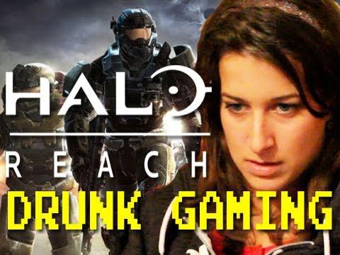Drunk Gaming Halo Reach