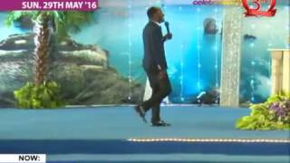 Apostle  ( Prof) Johnson Suleman Live Sunday service 29th May 2016 #DIVINE RESTRICTION PT 2