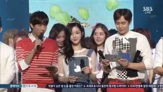 [Full HD] 2014.06.01 Jiyeon(지연) - Never Ever(1분 1초) & Ending @SBS 인기가요 Inkigayo