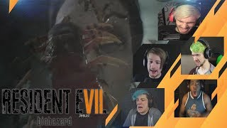 Gamers Reactions to Marguerite | Resident Evil 7: Biohazard