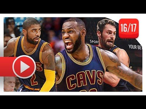 LeBron James, Kyrie Irving & Kevin Love Highlights vs Raptors (2016.10.28) - Cavs Feed