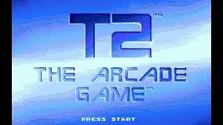 Mega Drive Longplay [143] T2 - The Arcade Game