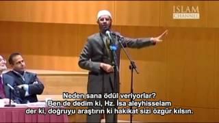 Dr Zakir Naik Amerikan polisine Terorizm ile Cihad'ın açıklaması
