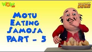 Motu And His Samosas - Motu Patlu Compilation - Part 5 - 30 Minutes of Fun! As seen on Nickelodeon
