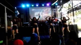 CLOVE-S perform GIRLS' DAY - Something + Female President