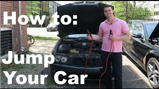 How To Jump Start a Car! (The EASY Way)