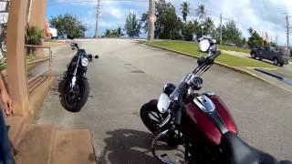 Harley Davidson Breakout 괌 투어 영상 1편