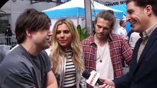 The Band Perry on Singing Team USA's Official Anthem for the Olympics