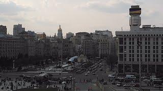 Weekend At Maidan Of Independence, Kyiv, Ukraine