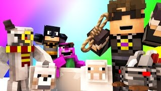Minecraft Mini-Game : DO NOT LAUGH! (THE BLIND MAN AND THE ANIME COLLECTION!) w/ Facecam