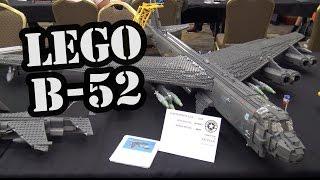 LEGO B-52 Stratofortress Jet Bomber | World War Brick 2017