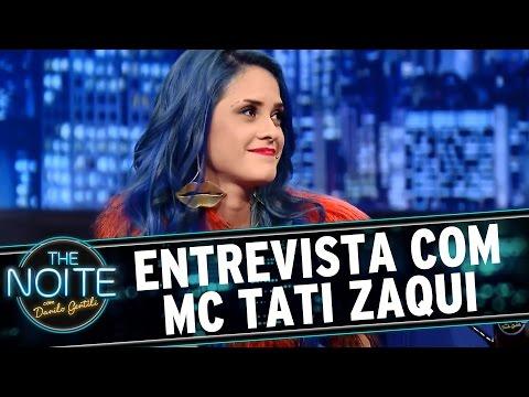 The Noite 29 07 15 Entrevista com MC Tati Zaqui