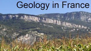 Geology of le massif de la Chartreuse by Grenoble in France Great  Part 1 of 2