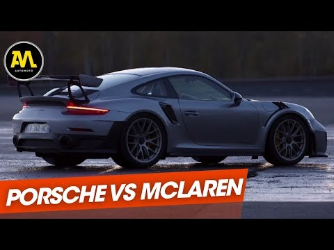 Duel la Porsche 911 GT2 RS défie la McLaren 720 S