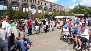 Wheelchair Basketball at the Iowa State Fair