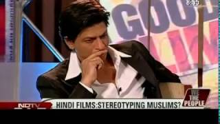Dr Zakir Naik - Shahrukh Khan on BEING MUSLIM with Dr Zakir Naik barkha - NEWS-TV