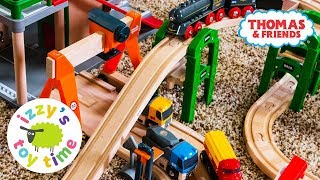 Brio Rail and Road Playset | Fun Toy Trains and for Kids | Cars for Kids | Videos for Children