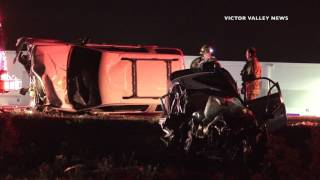 4 Dead in Victorville Car Accident
