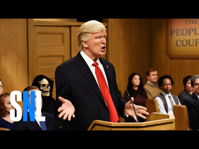 Trump People's Court - SNL