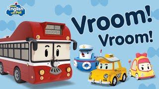 First English with POLI Vroom! Vroom! | Robocar POLI Special