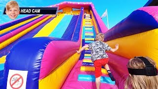 Busfabriken Indoor Playground Fun for Kids (headcam POV)